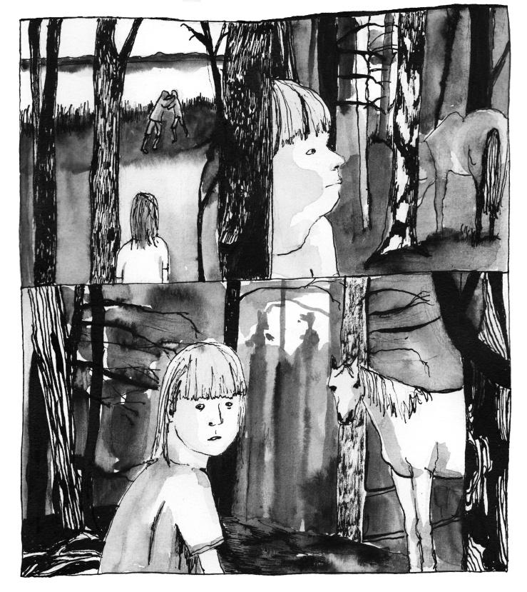 Hauho_tyttö ja hevonen